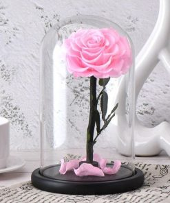 Cloche Rose Éternelle La Belle Et La Bête